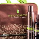 Macadamia Texturizing Salt Spray and Finishing Spray Bag Set