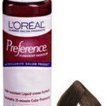 L'Oreal Preference Liquid-Creme Permanent Haircolor