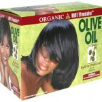 Organic Root Stimulator Olive Oil No-Lye Relaxer – Normal Hair