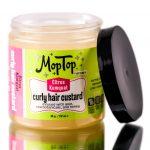 MopTop Citrus Kumquat Curly Hair Custard
