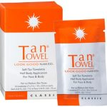 TanTowel Self-Tan Towelette – Half Body Application (Classic)
