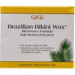GiGi Brazilian Bikini Wax Microwave Formula Kit – Hair Removal System