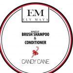 Ely Maya Make-up Brush Shampoo & Conditioner – Candy Cane