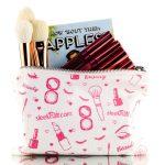 Sleekhair Beauty Zippered Makeup Bag