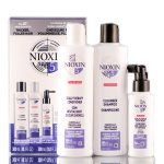 Nioxin System 5 Kit – Light Thinning Intense Moisture for Chemically Treated Hair