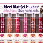theBalm Meet Matt(e) Hughes 6 Mini Liquid Lipsticks Limited Set Vol 3
