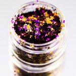 Stinaface Custom Chunky Glitter – Purple & Gold