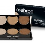 Mehron Highlight-Pro 3 Shade Palette